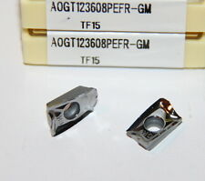 0.142 Thick Parallelogram 85/° Mitsubishi Materials AOGT123602PEFR-GM TF15 Uncoated Carbide Milling Insert 0.008 Corner Radius Pack of 10 Chamfer Honing Class G