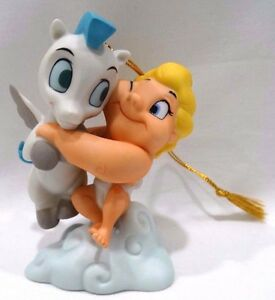Wdcc Hercules Pegasus And Baby Hercules A Gift From The