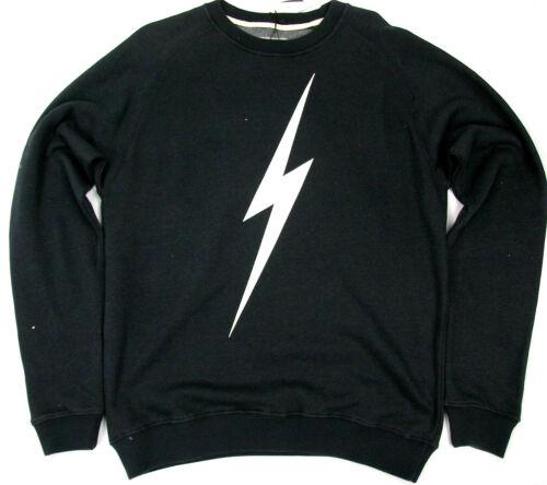 Lightning Bolt Long Sleeve Crew Neck Sweatshirt Bolt Moonless Night Surf  Bolt