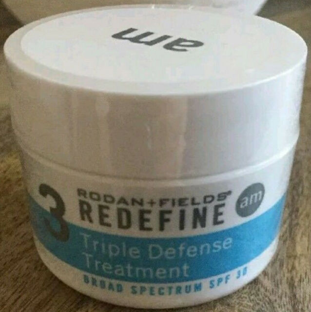 NEW Rodan + and Fields REDEFINE AM Triple Defense Treatment Step 3 Cream SPF 30