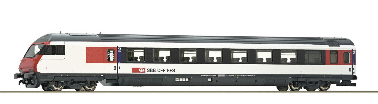 ROCO 74399 EC IC-Steuerwagen SBB Ep VI Auf Wunsch Achstausch für Märklin gratis    Praktisch Und Wirtschaftlich