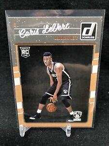 2016-17-Panini-Donruss-167-Caris-LeVert-RC-Rookie-Card-Brooklyn-Nets-NBA-S80