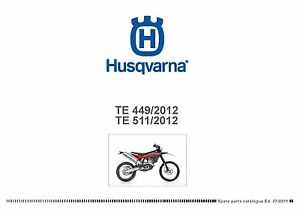 husqvarna te449 manual
