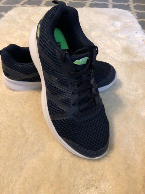 8-9 Avia Women/'s Memory Foam Gray Lightweight Athletic Running Sneakers Shoes