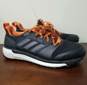 Trail Running Shoes Black Carbon Size