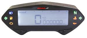 KOSO-DB-01RN-Digital-Cockpit-Tacho-12V-fuer-XT350-XT600-SR500-BA041000-mit-ABE