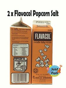 2 X 992g Genuine Flavacol Butter Popcorn Salt Cinema Quality Popcorn Salt Ebay