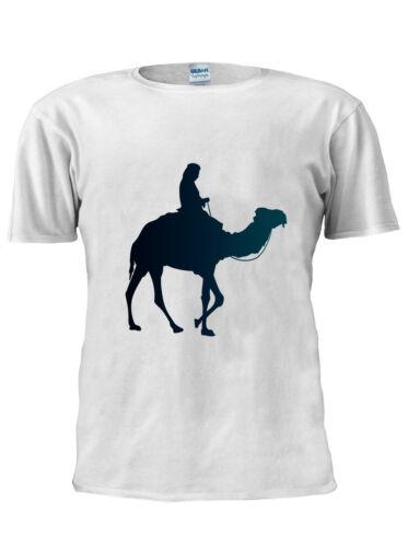 Black Camel T-Shirt Vest Tank Top Mens Womens Unisex Tshirt Gift XMas UK M136