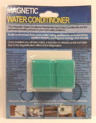 New Size--Powerful High Quality Neodymium Magnet Water Softener /& Conditioner