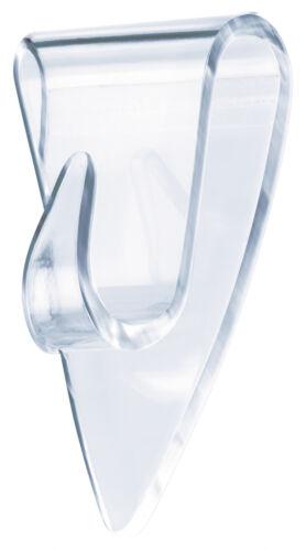 transparent für z.B 5x 0,2 kg tesa Klebehaken 0,2 kg Halteleistung Glas