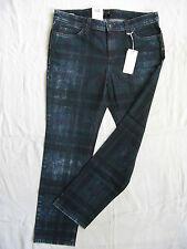 Mac Damen Blue Jeans Stretch Röhre Gr.44 L30 low waist slim fit pipe W34/L30