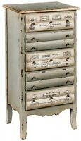 5 Drawer Chest / Shabby Chic Lamp Table / Occasional Tables / Chest Of Drawers