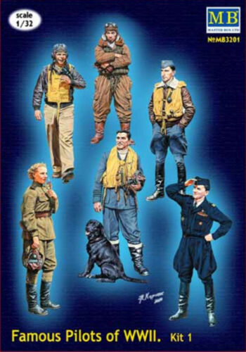 MASTER BOX™ 3201 Famous Pilots of WWII N°1 in 1:32