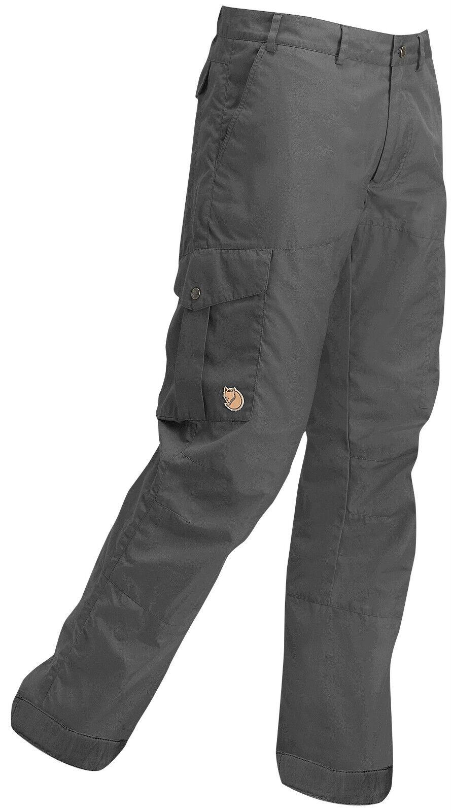 Fjällräven Karl hydratic pantalones 82844 dark gris g-1000 outdoorhose función pantalones