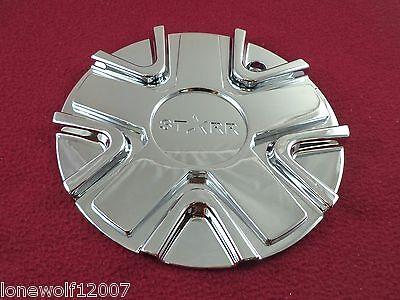 Starr Alloy Wheels Chrome Custom Wheel Center Cap