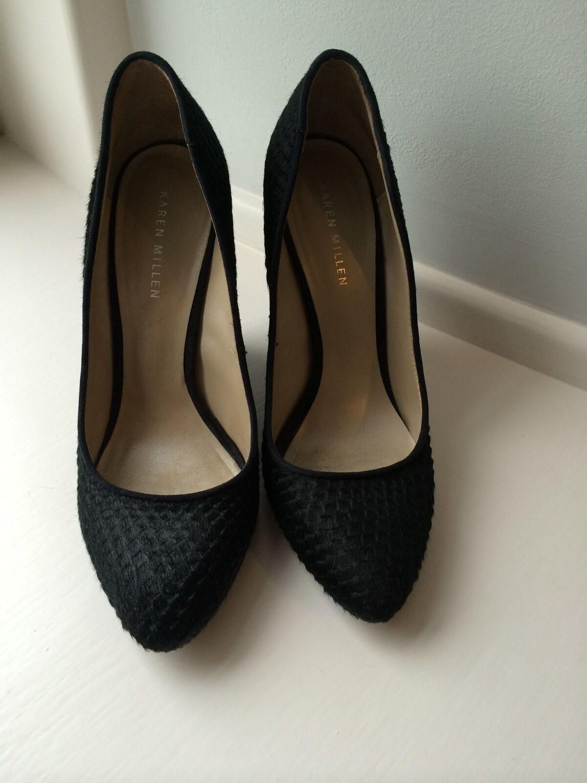 Karen Millen Negro Negro Negro Zapatos Talla 38  Envío y cambio gratis.