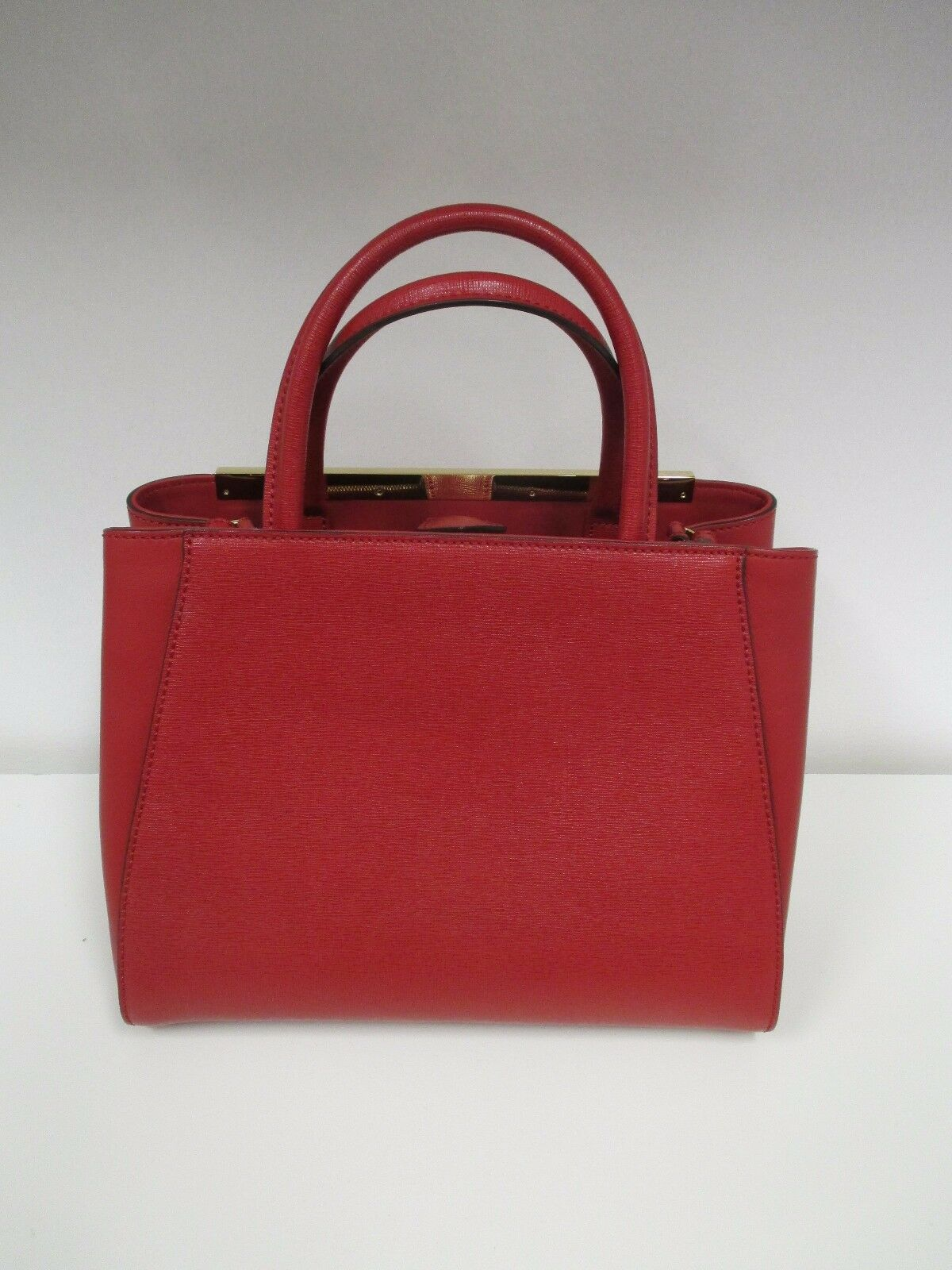 bf8fa5dbbb8f Fendi Red Petite 2jours Elite Tote Bag - With Tags - for sale online ...