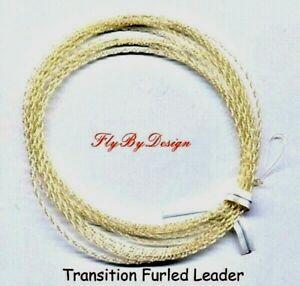 Wonderfurl Professional Gold Fluorocarbon Furled Fly Fishing Leaders