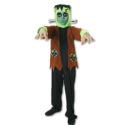Déguisement Halloween Frankenstein Garçon Mort Effrayant Costume Enfant