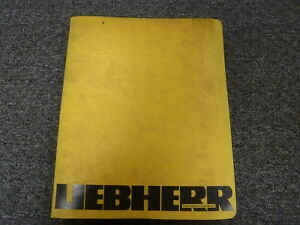 liebherr r912 litronic excavator shop service repair manual and Easy Wiring Diagrams details about liebherr r912 litronic excavator shop service repair manual and wiring diagrams