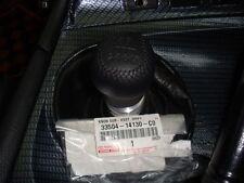 JDM OEM TOYOTA SUPRA 6 SPEED GEAR SHIFT KNOB JZA80 LEATHER NEW 33504-14130 JAPAN