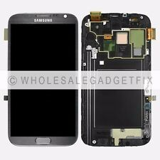 Samsung Galaxy Note 2 i317 N7105 T889 LCD Display Touch Screen Digitizer Frame