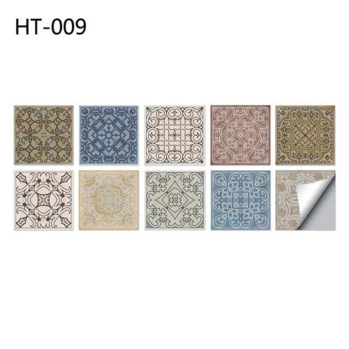 Art Mural Bathroom Floor Tiles Diagonal Stair Sticker Wall Stickers Waist Line