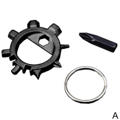 12 In 1 Multi Octopus Screwdriver Bike Bicycle Repair Tool Bottle Opener V8S9