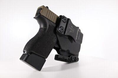 Davis Tactical IWB Light Bearing Kydex Holster For Glock 43//42 TLR-6
