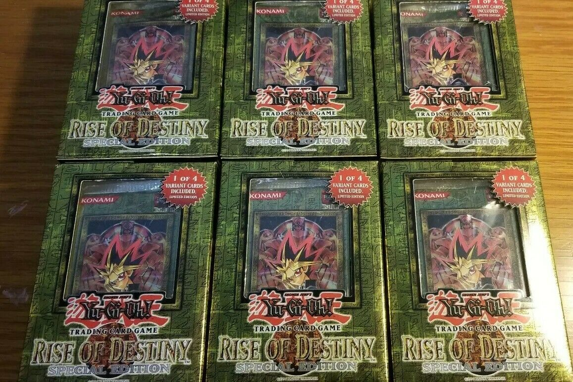 Rise Rise Rise of Destiny, Sealed Special Edition  Lot (6 boxes) First Edition bc077c