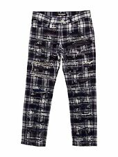 CRAZY COOL, SOLD OUT $1,385 BLUE & WHITE JUNYA WATANABE JEANS