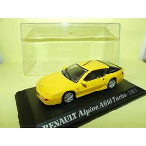 RENAULT-ALPINE-A610-TURBO-1993-Jaune-NOREV-Collection-M6-1-43