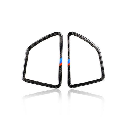Carbon Fiber Air Vent Frame Lüftungsgitter Cover Trim für BMW X5 E70 X6 E71 6SB2