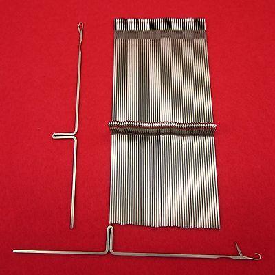 NEU 10 Nadeln für Strickmaschinen Empisal 302 und 305 KnittingMachine Needles