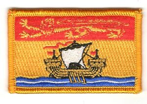 Ecusson Brodé PATCH drapeau Nunavut CANADA FLAG PATCH EMBROIDERED