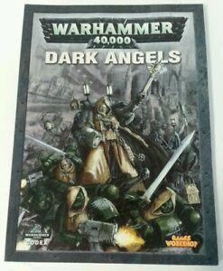 Ambitieux Livre-games Workshop Warhammer 40,000 Rpg Livre De Poche Codex Dark Angels 2006-afficher Le Titre D'origine êTre Hautement Loué Et AppréCié Par Le Public Consommateur