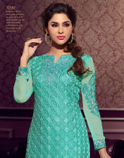 Designer Pure Georgette Salwar Kameez Blue Color Beautiful Looking Suit