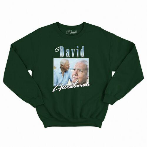 Jumper Sweatshirt Retro 90/'s Gift Fan Sir David Attenborough Unisex Sweater
