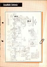 ~Graetz 6 Schaltbilder Sinfonia,Sarabanda,Musika,Comedia,Scerzo,Grazioso etc.