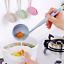 2 in 1 Soup Spoon Long Handle Tableware Dinnerware Cooking Kitchen Supplies Tool