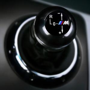 Shift-perilla-redonda-Emblema-Insignia-Auto-Adhesivo-Pegatina-Para-BMW-E46-M3-SMG-II-23mm
