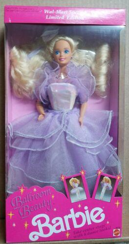 Barbie 1991 Ballroom Beauty Mattel Doll Purple Dress Evening Gown Vintage