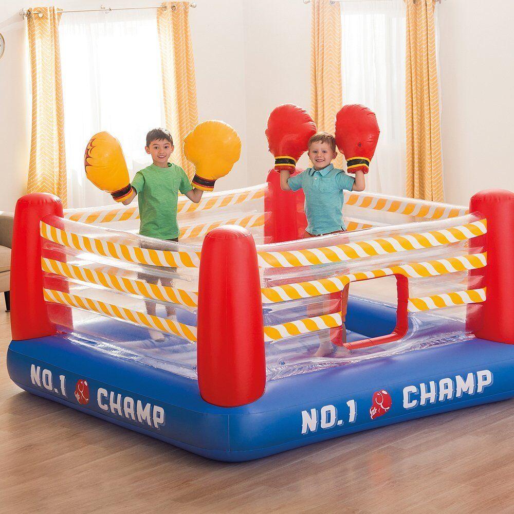 Jump o Lene Fun Ring Ring Ring Gonfiabile Intex 48250 per Bambini con Guantoni ad Aria ac3abe