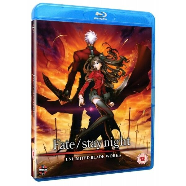 Fate Stay Night Unlimited Blade Works Blu-ray