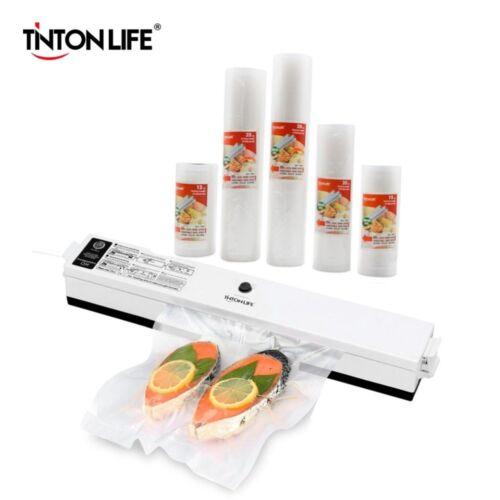 TINTON LIFE Vacuum Food Sealer Vacuum Sealer Bags Vacuum Sealer Cover