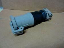 Hubbell Hbl4100cs2w Pin Sleeve Plug 100a 250vdc 600vac 3p 4w Female Watertight