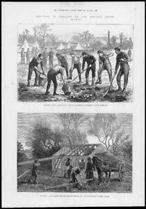 1881-Antique-Print-IRELAND-KILKENNY-CARLOW-Digging-Potatoes-Horse-Cart-268