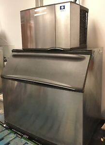 Details about MANITOWOC ICE MACHINE Model SD0692N with Bin