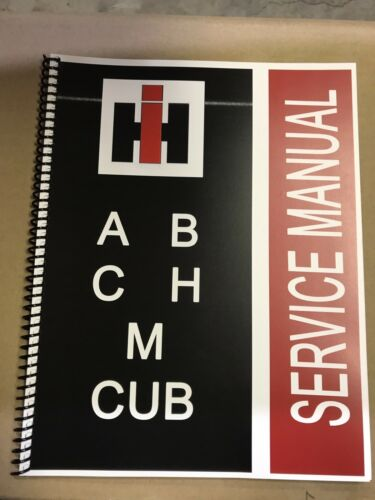 B International Harvester Farmall Tractor Technical Service Shop Repair Manual