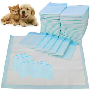 50-100-150-200-60X45CM-LARGE-PUPPY-TRAINING-PADS-TOILET-PEE-WEE-MATS-PET-DOG-CAT
